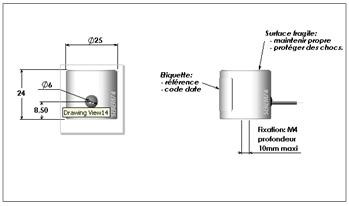 Ventouse à rupture de courant 609+ schema technique