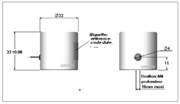 Ventouse électromagnétique 610, schéma technique
