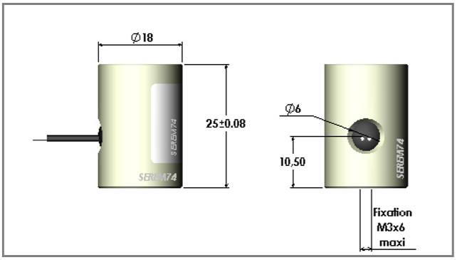 Fabricant de ventouse électromagnétique sur mesure petit diamètre réf R18
