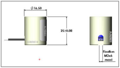 ventouse électro-magnétique à rupture de courant R16