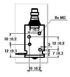 spécifications électroaimant linéaire monostable 110